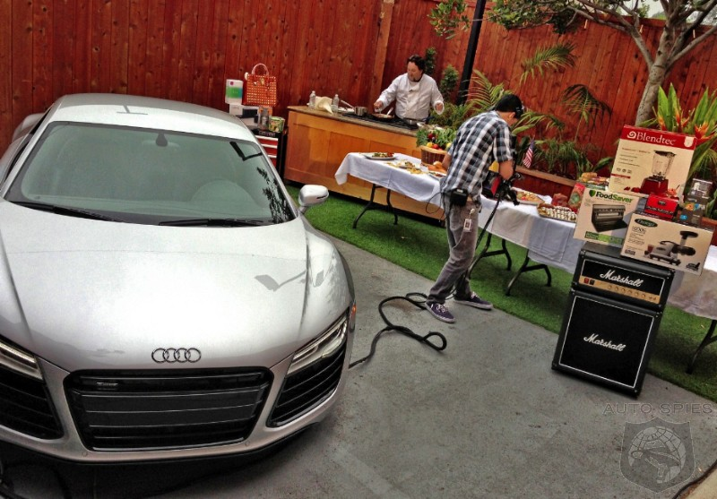SPIED We Feature The Audi R On The Fathers Day And Grad - Day audi