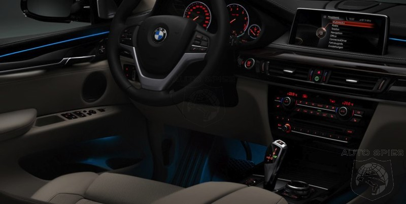 Will It Be The Little Things Like Cool LED Ambient Lighting In The - 2014 bmw 3 series interior
