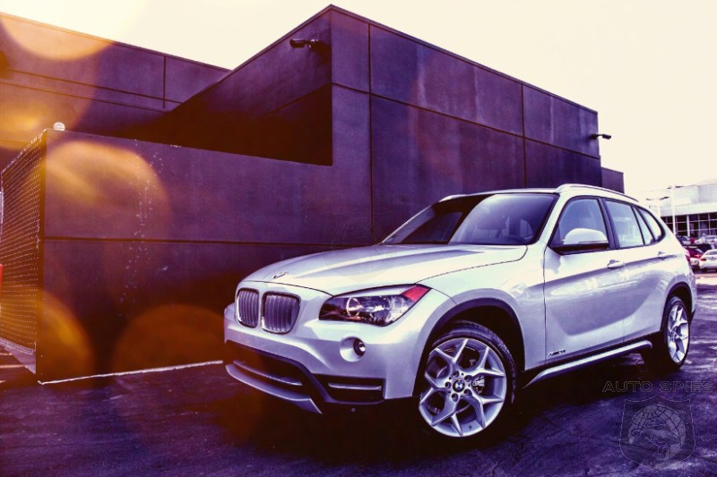 2014 BMW X1 X-Line-001 Shows You WHY Wagons are Dead and Why You're NUTS To Buy A 3-Series Wagon Instead.