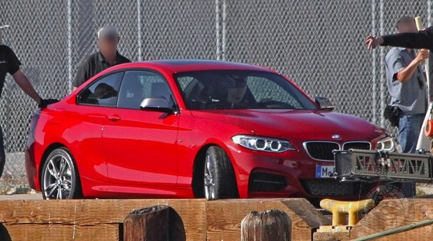 BREAKING! GREAT Real Life Shots Of The BMW 2-Series SPIED! Will It Make The Competition See RED?