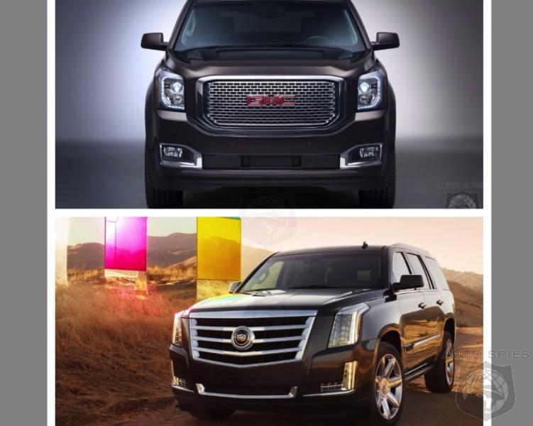 CAR WARS! 2015 Cadillac Escalade vs. 2015 Yukon Denali. WHICH One Is