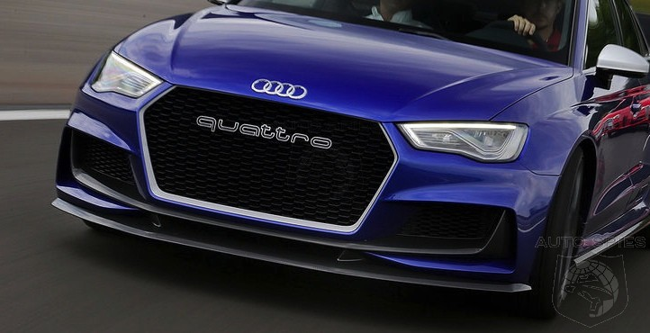 STUD or DUD? Does The Massive 'QUATTRO' Grill Lettering Do It For You? Should It Show Up On More Audi's?