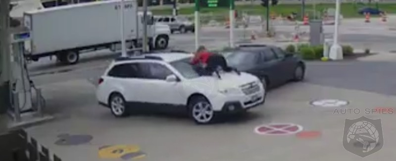 MUST SEE VIDEO Auto Spies Badass Award Of The Day Amazing Woman Thwarts Carjacking HERSELF