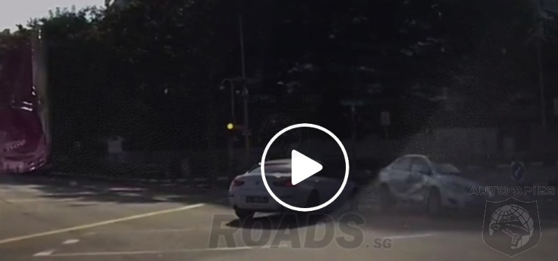 SPIED! CRAZY CRASH VIDEO! Ghost Car And It's NOT A Rolls-Royce