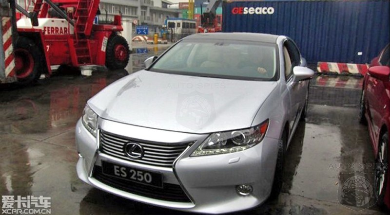 STUD OR DUD? Chinese Site Leaks 2013 Lexus ES Redesign - Was It What You Hoped For?