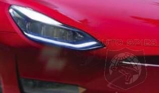 LEAK! Best SNEAK Shot Yet Of The Tesla Model Y? And Will It