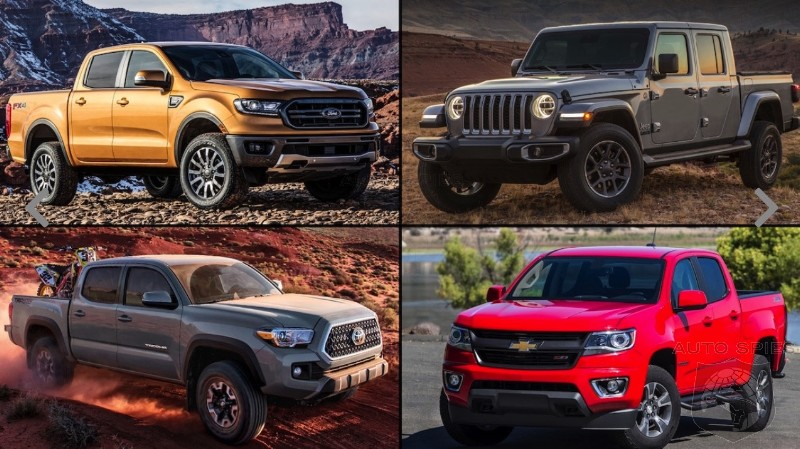 Tacoma. Gladiator. Colorado. Ranger. WHY Would You Buy ANY Of These When Full Size Trucks Have CHEAPER Street Prices?