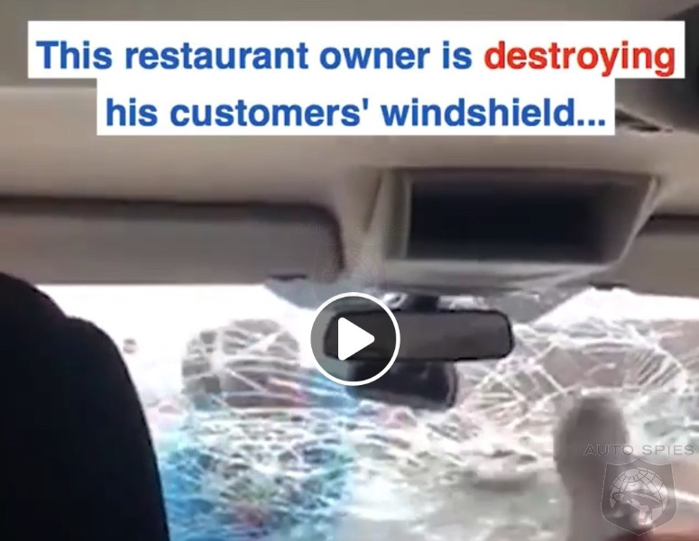 VIDEO: Diner Leaves Bad Review And Restaurant Owner Decides To Go Full RAMBO On Their Car!