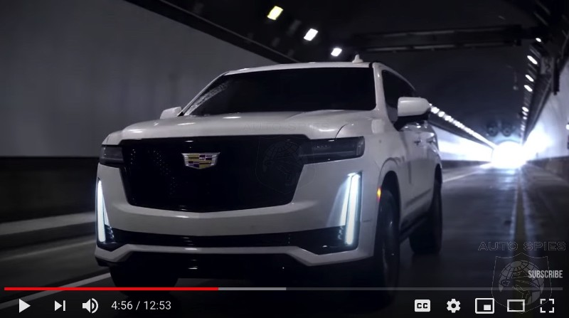 How Do We Honor Our Canadian Readers On Victoria Day? Watch Two Of Them Do A Decent Review Of The 2021 Cadillac Escalade