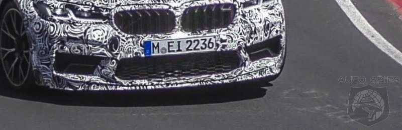 SPY VIDEO! 2021 BMW M5 Struts Its Stuff On The Nurburgring! A FULL Speed!