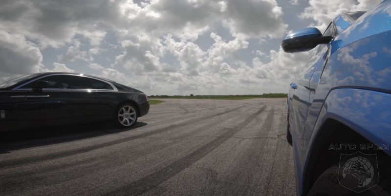 VIDEO REVIEW: What Happens When You Take A 750HP Lamborghini Urus And Race It Against A Rolls-Royce Wraith? WATCH!