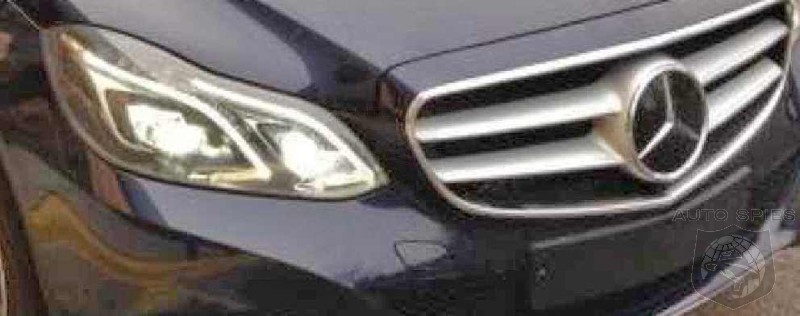 SPIED! First Real Life Street Shot Of The 2014 Mercedes-Benz E-Class!