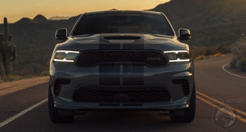 PURE MICHIGAN! Pre-Production 2021 Dodge Durango SRT Hellcat STOLEN From FCA Employee's Driveway!
