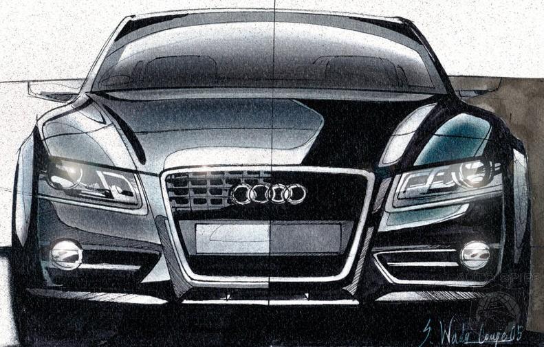 Audi A8 Sketch Design