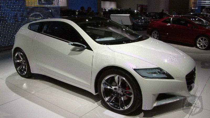 Video Honda Cr Z Concept From The 2008 Detroit Auto Show