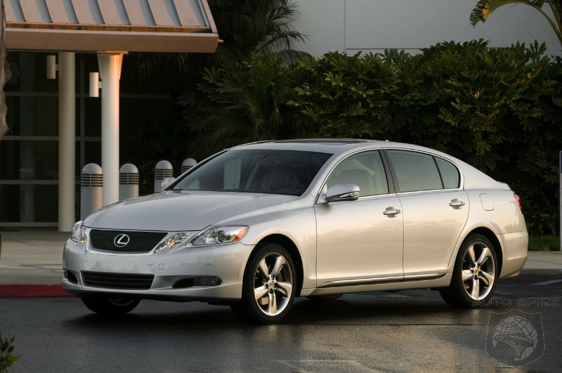2008 lexus gs 460 350 hits the internet autospies auto news. Black Bedroom Furniture Sets. Home Design Ideas
