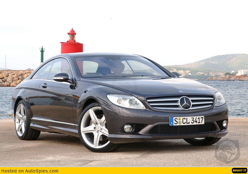 Review mercedes benz cl500 autospies auto news for Mercedes benz cl500 review