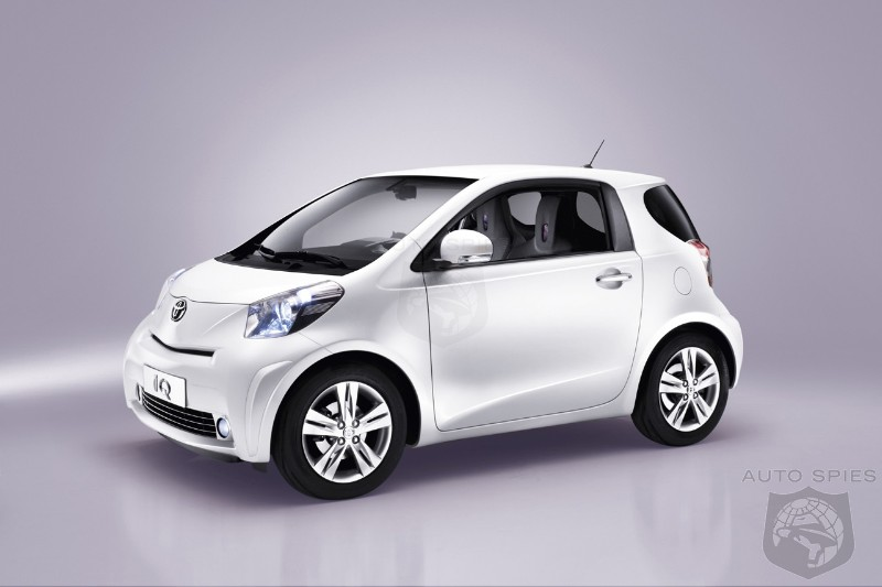 Toyota Out Smarts The Smart Car With New Iq Autospies