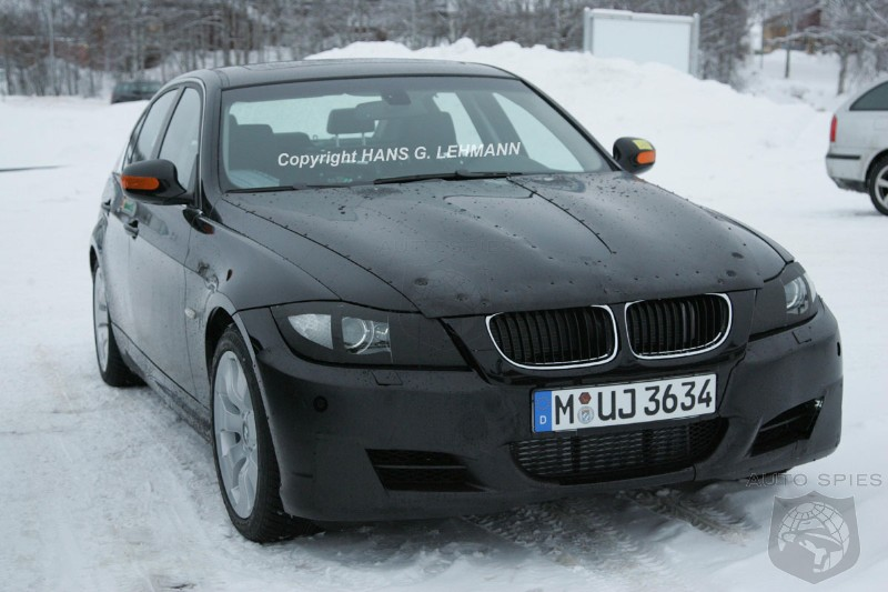 BMW 3 Series Facelift in Cold Weather Testing!