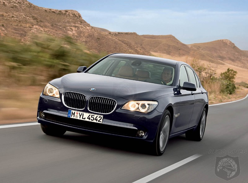 Official Images Of The 2009 BMW 7 Series Breakout In Advance Of Paris