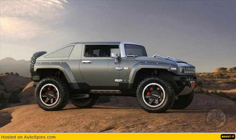 Hummer Hx 2009. Hummer H4/Hx pictures released