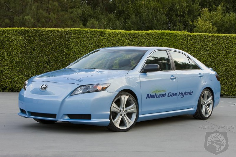 LA AUTO SHOW: Toyota's New CNG Powered Hybrid Camry Is A ...