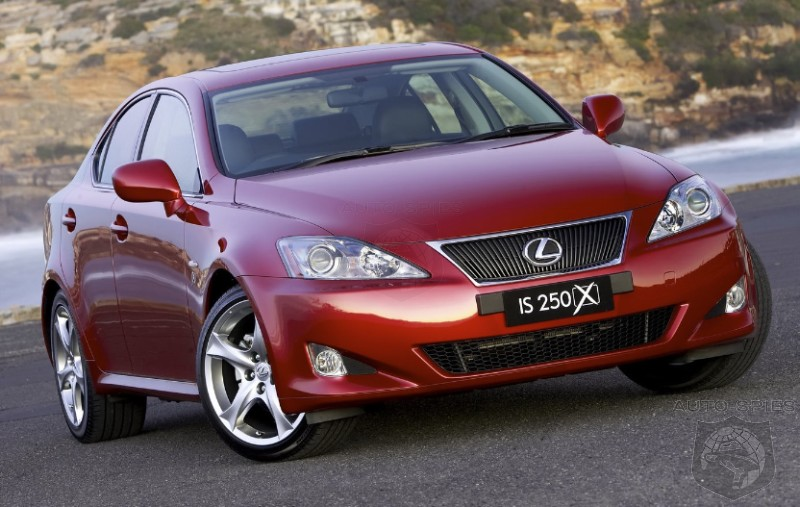 lexus is 250 black rims. Lexus Australia Introduces