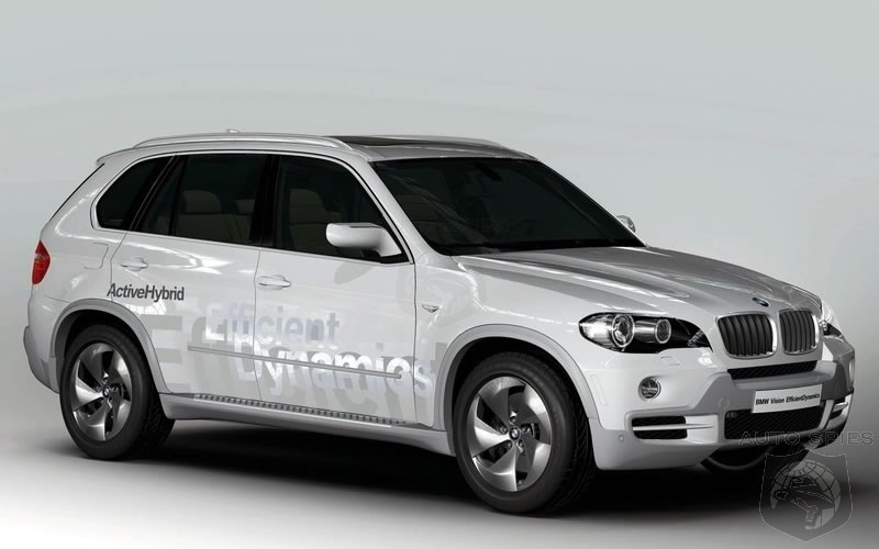 BMW Reveals It's Vision Efficient Dynamics Hybrid-Diesel X5 Concept