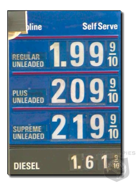Cheapest price for gas