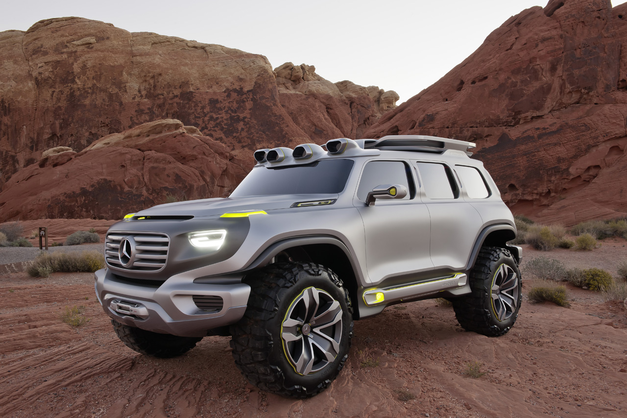 La auto show mercedes benz ener g force concept should for Mercedes benz in la