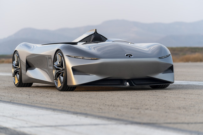 MontereyCarWeek: Infiniti Goes Deep For The Score, Did The