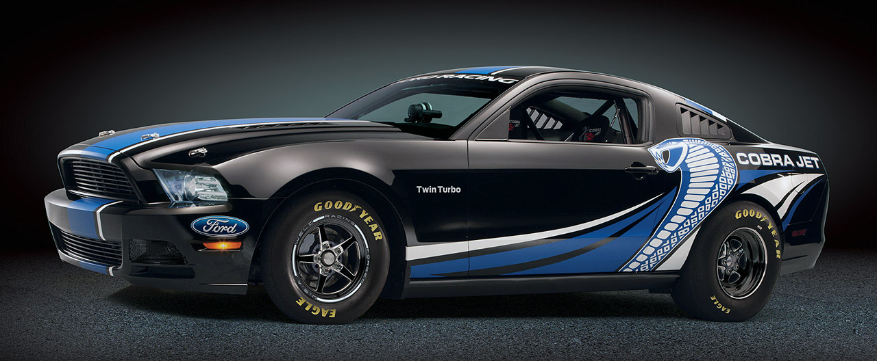 Sema Show Ford Racing Debuts Twin Turbo Mustang Cobra Jet Autospies Auto News