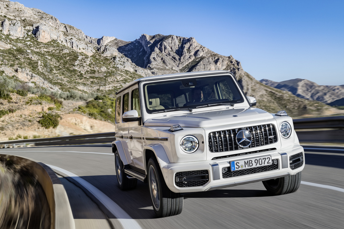 Revealed The 2019 Mercedes Amg G63 Suitable For A New Generation