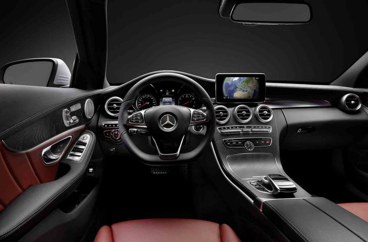 Mercedes Benz Reveals Next Gen C Class Interior   Have They FINALLY  Outclassed The A4?