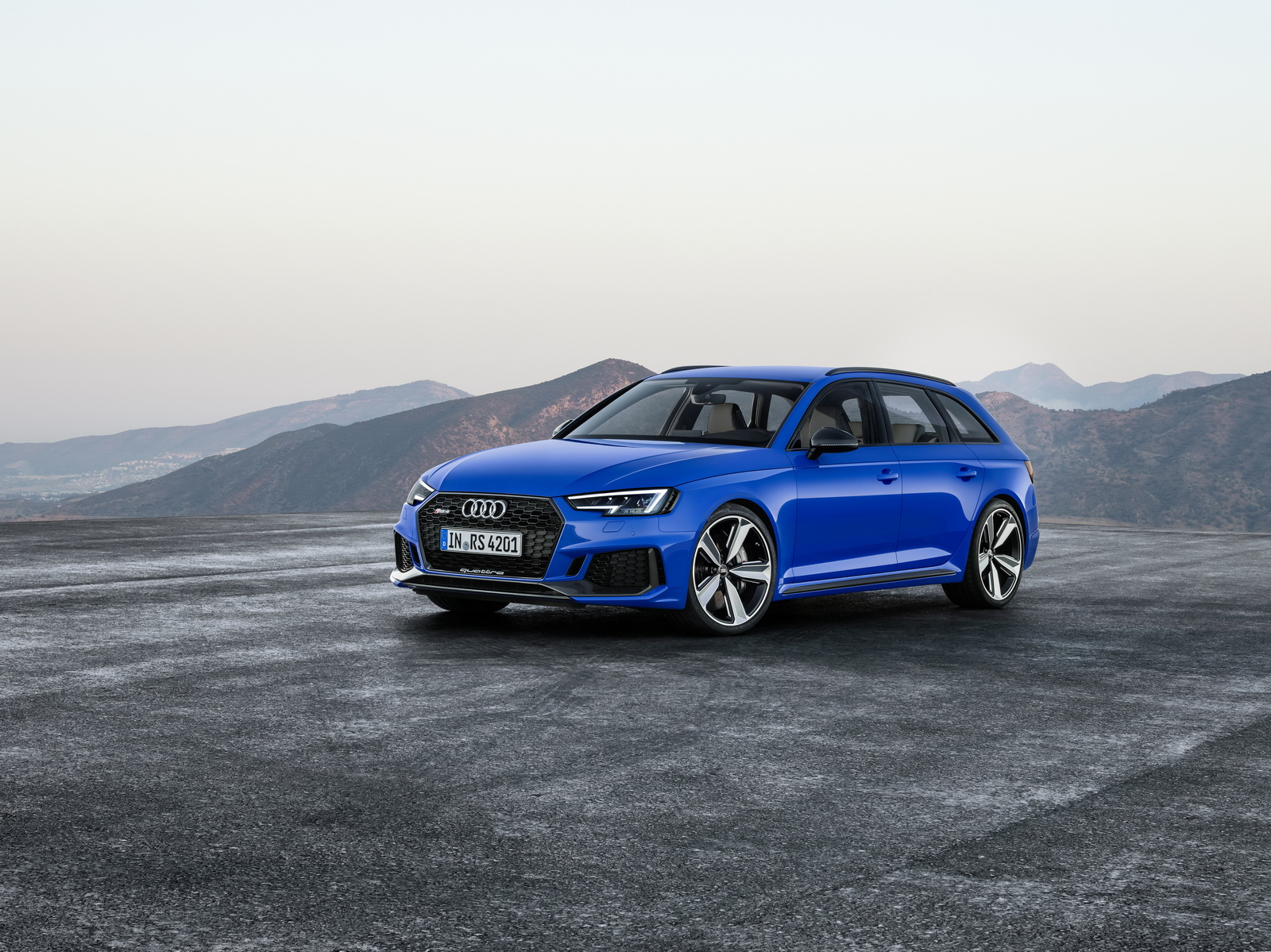 Audi Reveals The RS Avant With A Stunning Time Of Only - Audi rs4