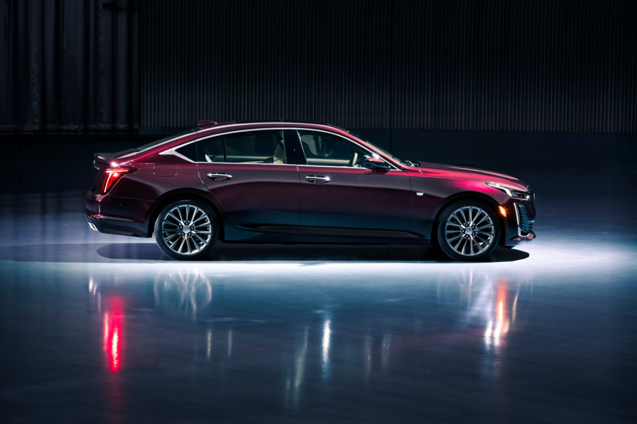Cadillac Launches The First Of A New Generation Of Sedans ...