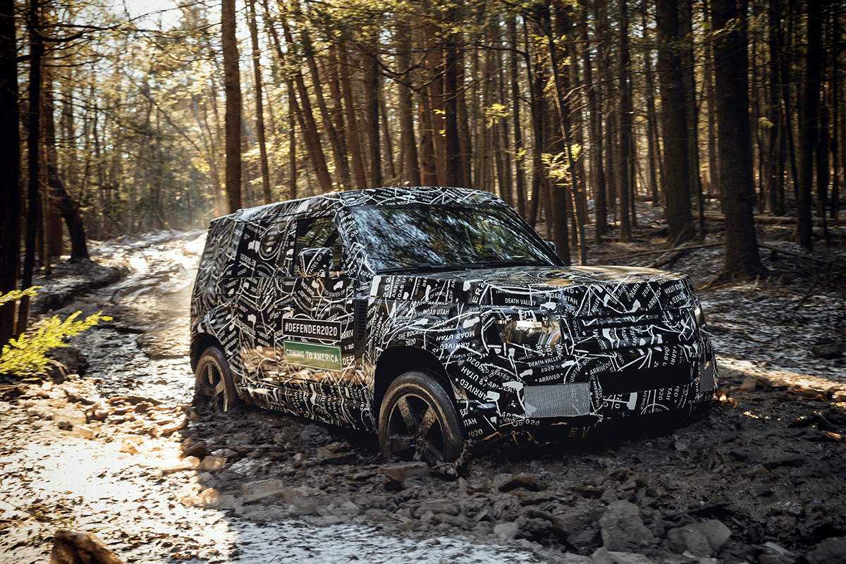 Leaked All New 2020 Land Rover Defender Bound For The Us