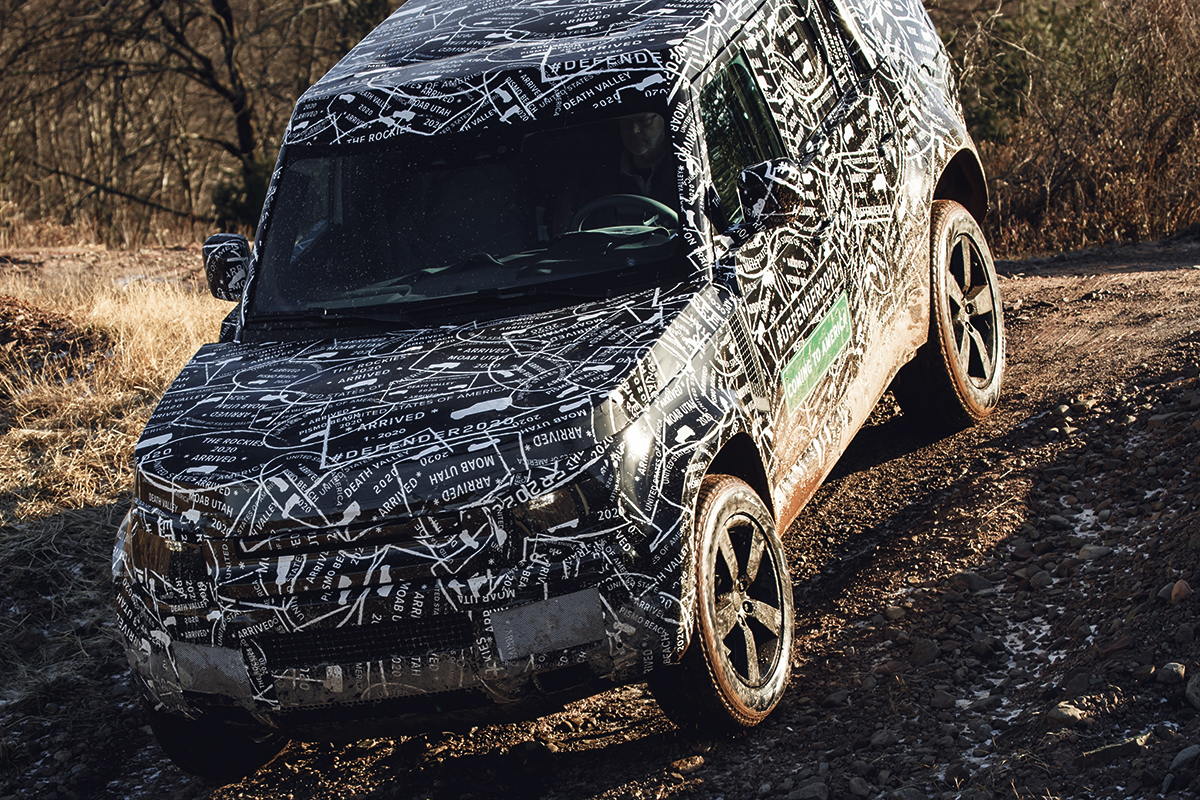 Leaked All New 2020 Land Rover Defender Bound For The Us Shores Autospies Auto News
