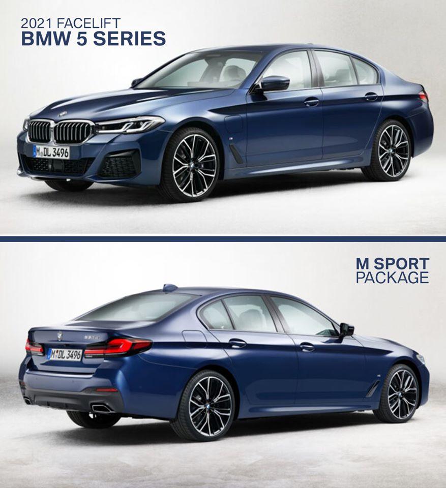 LEAK! 2021 BMW 5 Series Breaks Cover? Killer? Or KILL IT