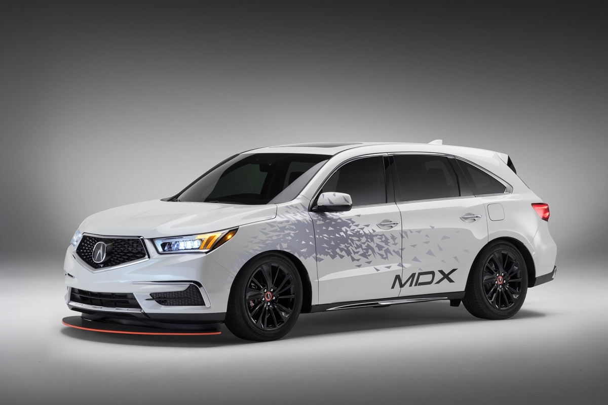 #SEMA: What Were They Thinking? Acura Reveals Custom MDX Tow Rig For NSX GT3 - AutoSpies Auto News