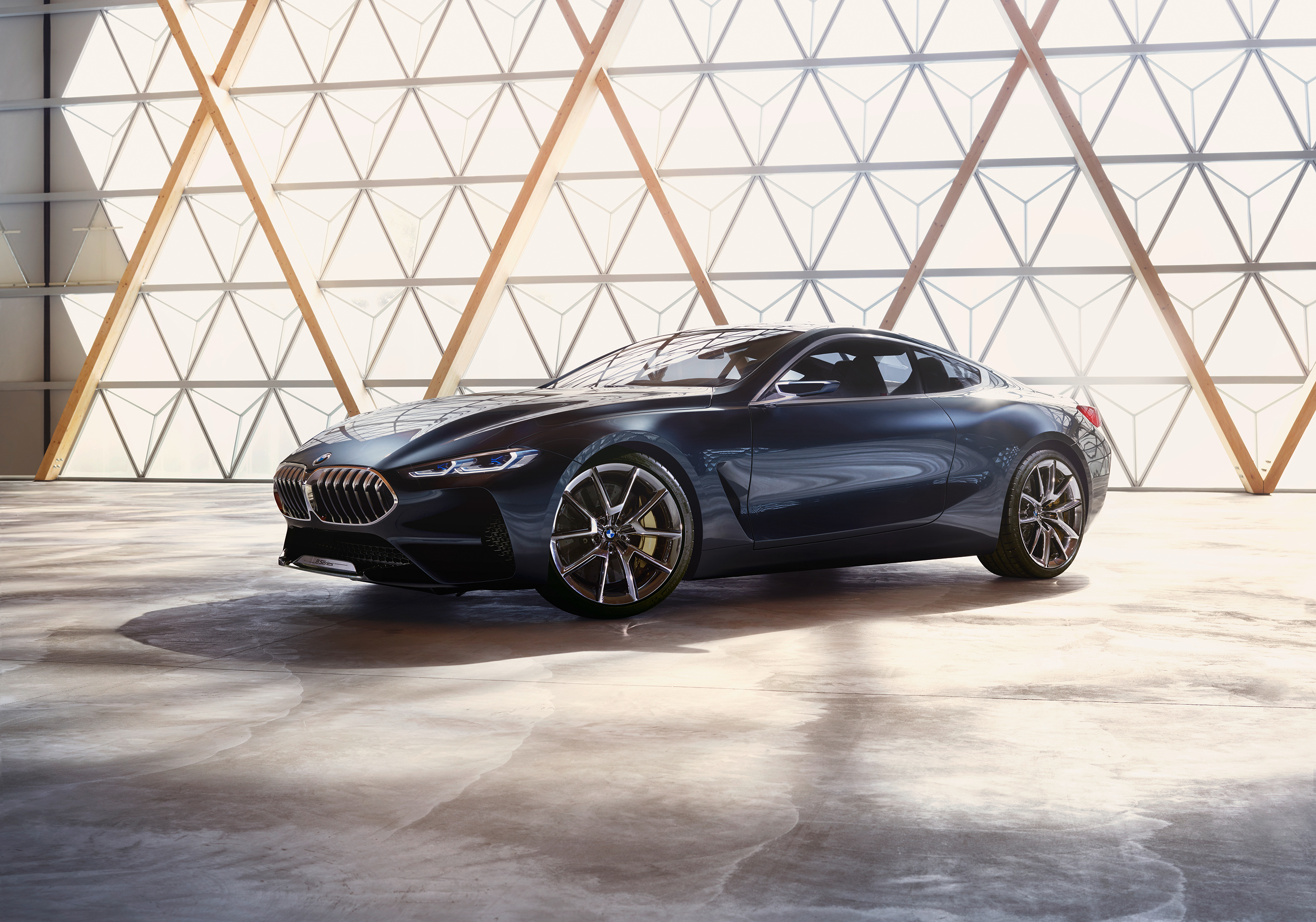 Top 10 most affordable luxury cars autospies auto news - The Exterior Brings Together The Past And The Future The Bmw Concept