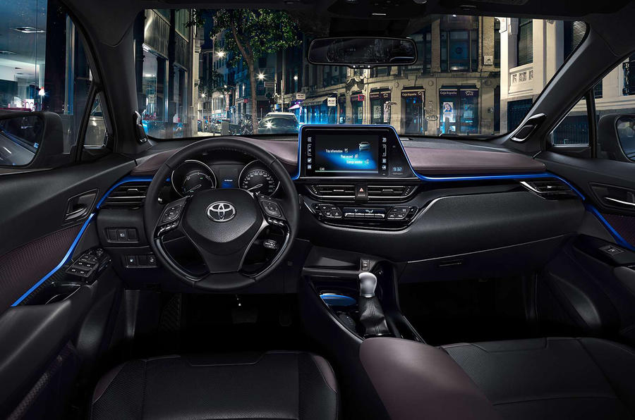 Get your first look at the interior of the Toyota C-HR, ahead of the ...