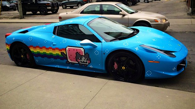 DeadMau5 Ditching Cat Wrapped Ferrari For A McLaren P1 - AutoSpies ... ef57222f9