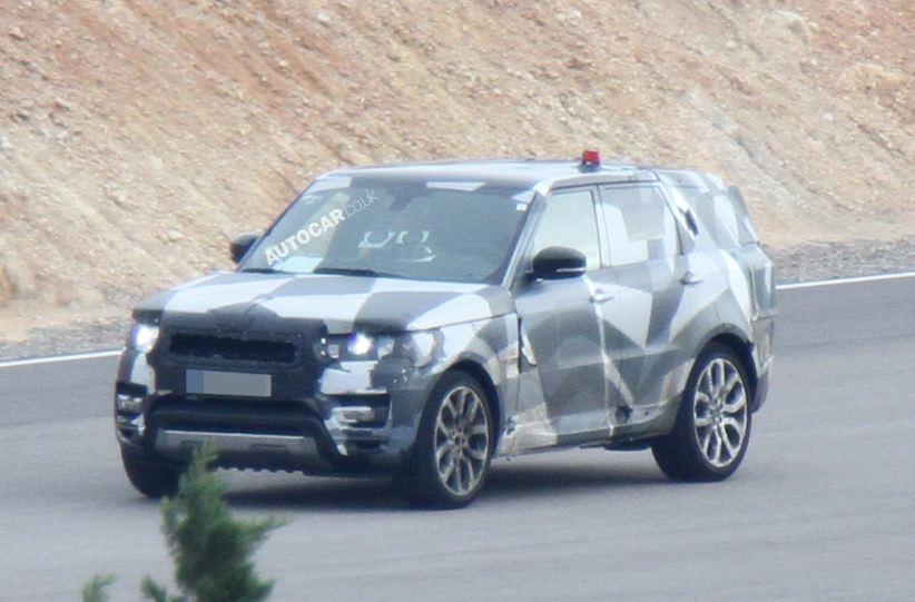 Range Rover San Diego >> Next Gen Range Rover Sport Caught Testing In Southern Europe - AutoSpies Auto News