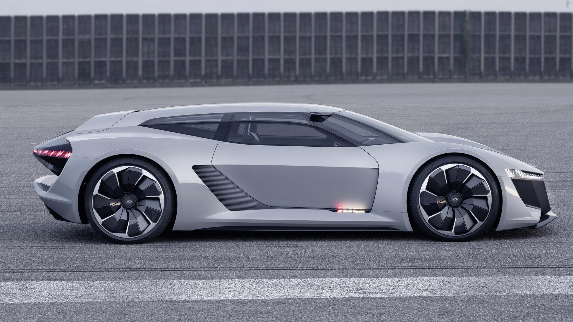 #MontereyCarWeek: Audi's PB18 e-tron Is A Different Kind ...