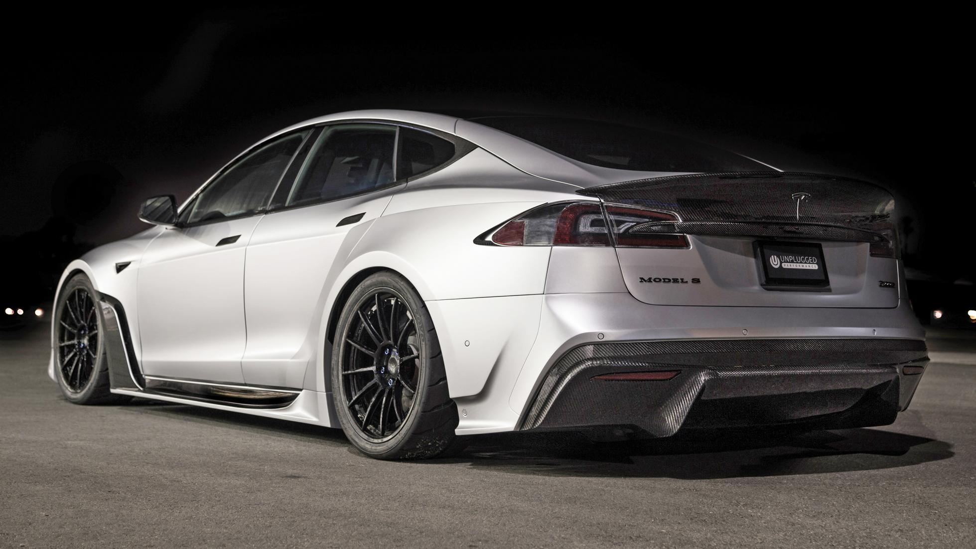 #SEMA: S-Apex Goes Where Tesla Won't With Agressive Carbon ...