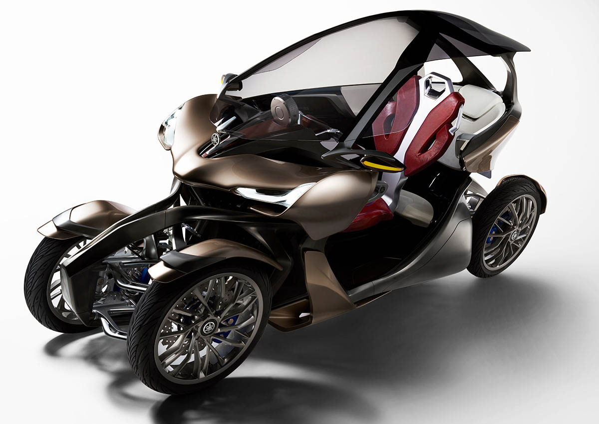 Four Wheeler With Rims: Yamaha's MWC-4 Concept Blurs The Line Between Bike And Car