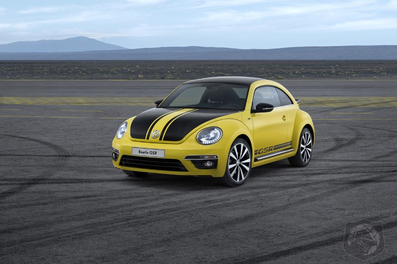 CHICAGO AUTO SHOW: VW Expands Performance Portfolio With Beetle GSR, R-Line, And New GTIs