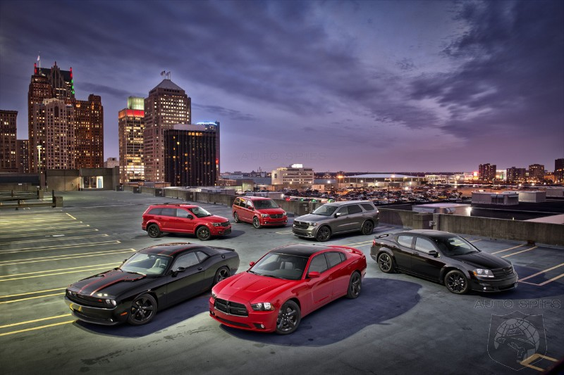 DETROIT AUTO SHOW: Dodge Extends Blacktop Option To More Models