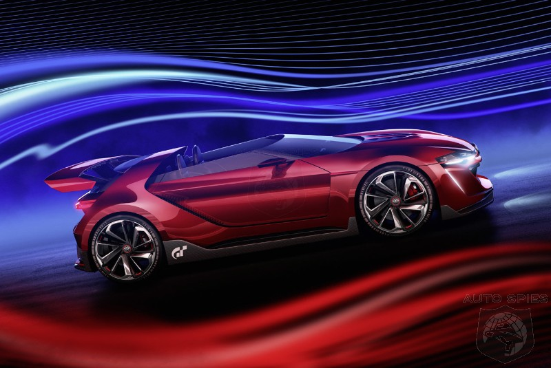 STUD OR DUD? Volkswagen Reveals The Most Radical GTI Concept Ever With Vision Gran Turismo